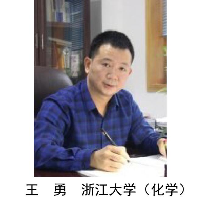 王  勇  浙江大学(化学)
